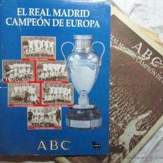 Coleccionismo deportivo: 26 NÚMEROS DE ABC EL REAL MADRID CAMPEÓN DE EUROPA. Lote 46612042