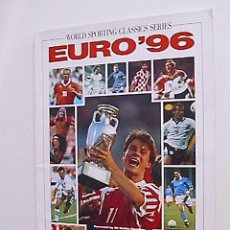 Coleccionismo deportivo: EXTRA EUROCOPA DE SELECCIONES INGLATERRA 1996 - EURO 96 - REVISTA IMPORTADA INGLATERRA . Lote 47130734