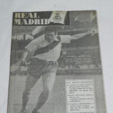 Coleccionismo deportivo: ANTIGUO Y RARISIMO BOLETIN INFORMATIVO DEL REAL MADRID - NUM. 30 - AÑO 1952 - TIENE 32 PAGINAS INCL. Lote 47336701