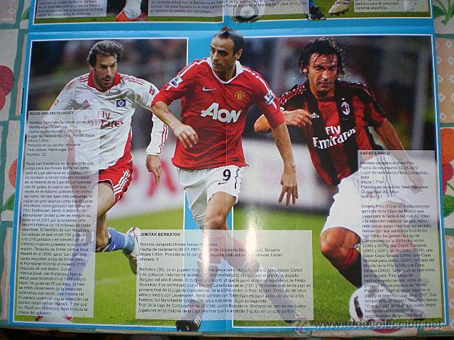 Coleccionismo deportivo: Lote 4 mega póster Top Estrellas del Fútbol Nº 1, 2, 3, 4 (Messi, Cristiano Ronaldo, Iniesta...) - Foto 15 - 47578172