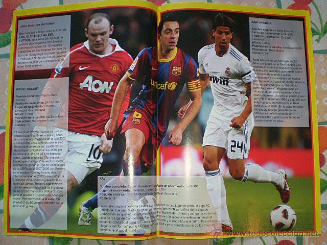 Coleccionismo deportivo: Lote 4 mega póster Top Estrellas del Fútbol Nº 1, 2, 3, 4 (Messi, Cristiano Ronaldo, Iniesta...) - Foto 22 - 47578172