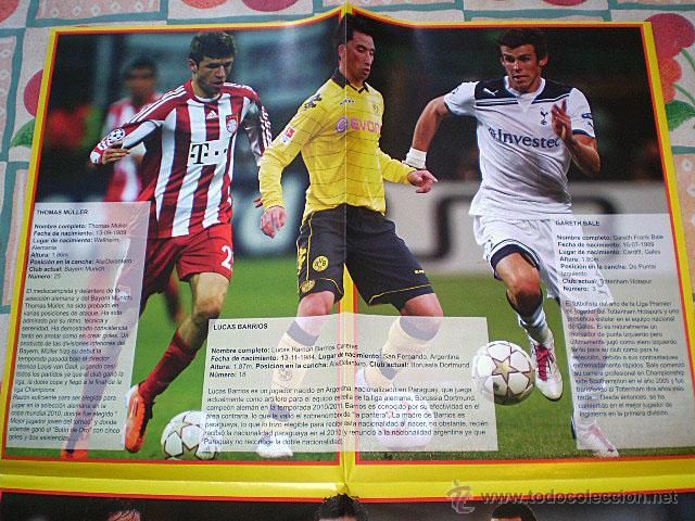 Coleccionismo deportivo: Lote 4 mega póster Top Estrellas del Fútbol Nº 1, 2, 3, 4 (Messi, Cristiano Ronaldo, Iniesta...) - Foto 23 - 47578172