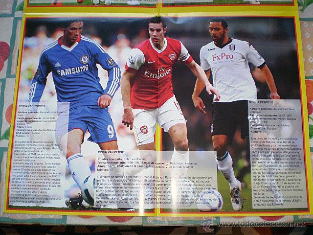 Coleccionismo deportivo: Lote 4 mega póster Top Estrellas del Fútbol Nº 1, 2, 3, 4 (Messi, Cristiano Ronaldo, Iniesta...) - Foto 24 - 47578172
