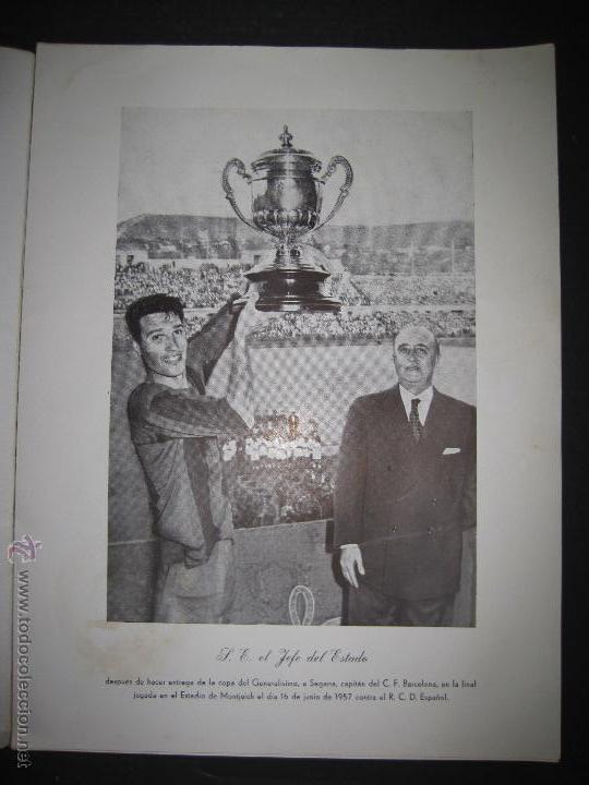 Coleccionismo deportivo: REVISTA 3 ANIVERSARIO MAYO 1957- 58 - VETERANOS futbol barcelona - VER FOTOS - (CD-1413) - Foto 2 - 47613589