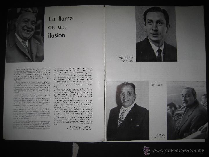 Coleccionismo deportivo: REVISTA 3 ANIVERSARIO MAYO 1957- 58 - VETERANOS futbol barcelona - VER FOTOS - (CD-1413) - Foto 4 - 47613589