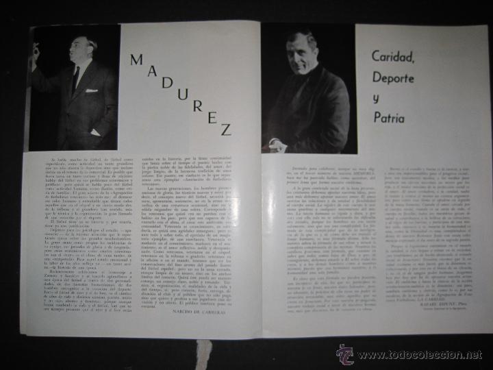 Coleccionismo deportivo: REVISTA 3 ANIVERSARIO MAYO 1957- 58 - VETERANOS futbol barcelona - VER FOTOS - (CD-1413) - Foto 5 - 47613589