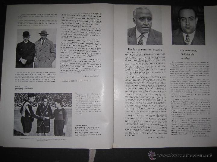Coleccionismo deportivo: REVISTA 3 ANIVERSARIO MAYO 1957- 58 - VETERANOS futbol barcelona - VER FOTOS - (CD-1413) - Foto 8 - 47613589