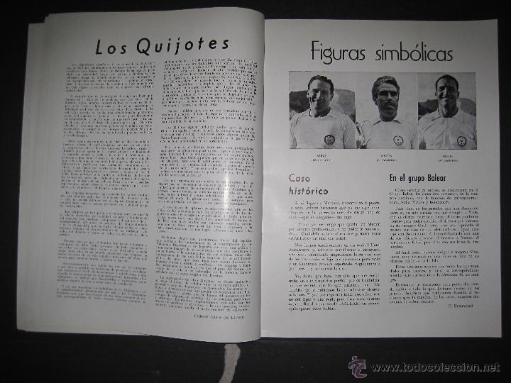 Coleccionismo deportivo: REVISTA 3 ANIVERSARIO MAYO 1957- 58 - VETERANOS futbol barcelona - VER FOTOS - (CD-1413) - Foto 12 - 47613589