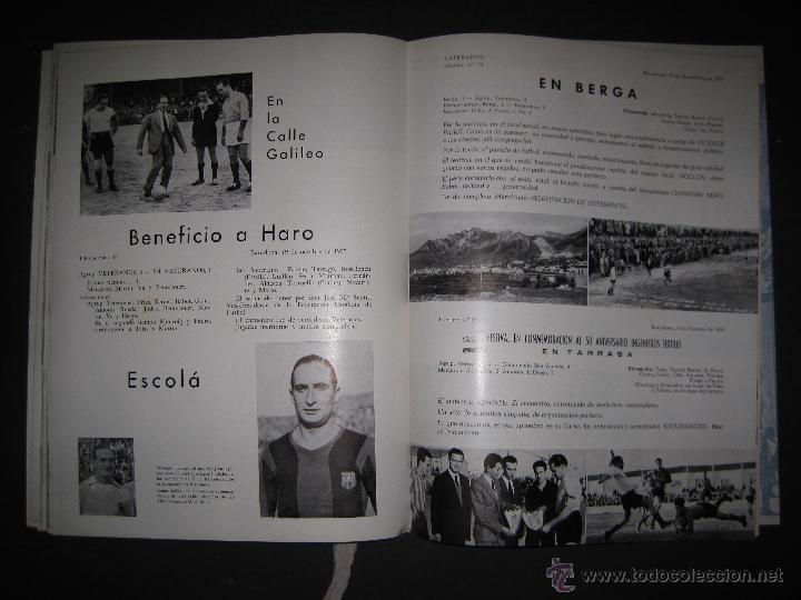 Coleccionismo deportivo: REVISTA 3 ANIVERSARIO MAYO 1957- 58 - VETERANOS futbol barcelona - VER FOTOS - (CD-1413) - Foto 21 - 47613589