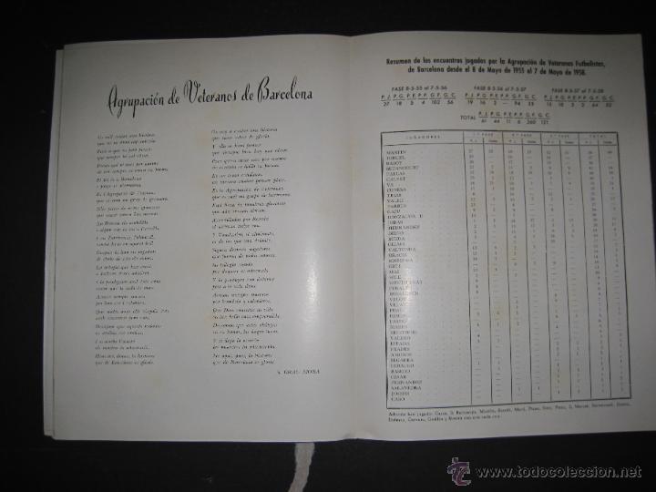 Coleccionismo deportivo: REVISTA 3 ANIVERSARIO MAYO 1957- 58 - VETERANOS futbol barcelona - VER FOTOS - (CD-1413) - Foto 24 - 47613589