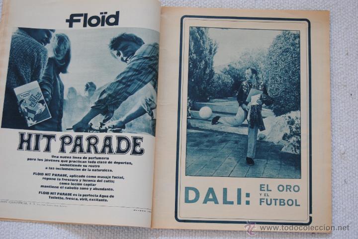 Coleccionismo deportivo: REVISTA BARÇA EXTRAORDINARIO DE NAVIDAD 1968 - Foto 7 - 47633779