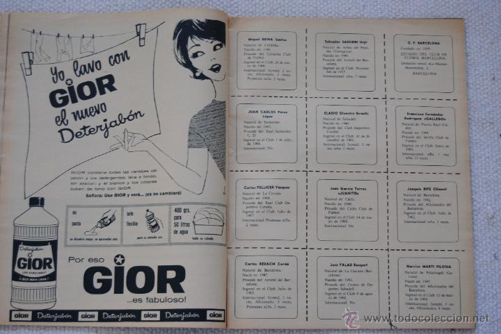 Coleccionismo deportivo: REVISTA BARÇA EXTRAORDINARIO DE NAVIDAD 1968 - Foto 9 - 47633779
