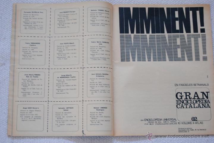 Coleccionismo deportivo: REVISTA BARÇA EXTRAORDINARIO DE NAVIDAD 1968 - Foto 10 - 47633779