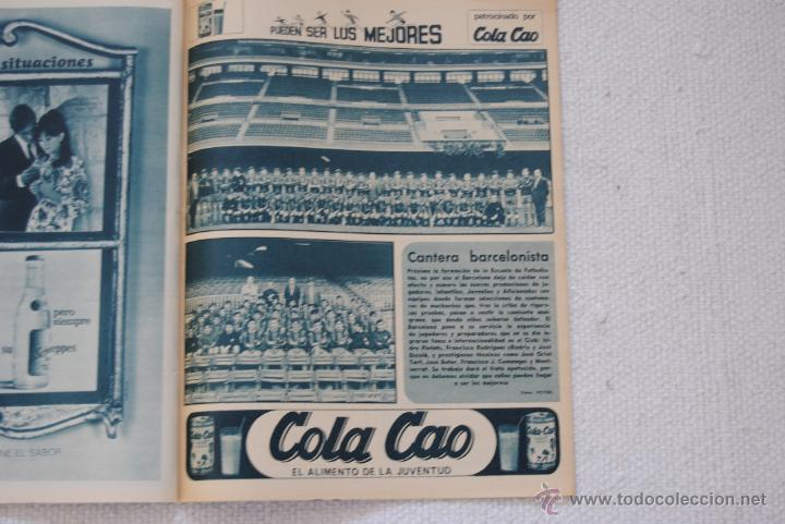 Coleccionismo deportivo: REVISTA BARÇA EXTRAORDINARIO DE NAVIDAD 1968 - Foto 14 - 47633779
