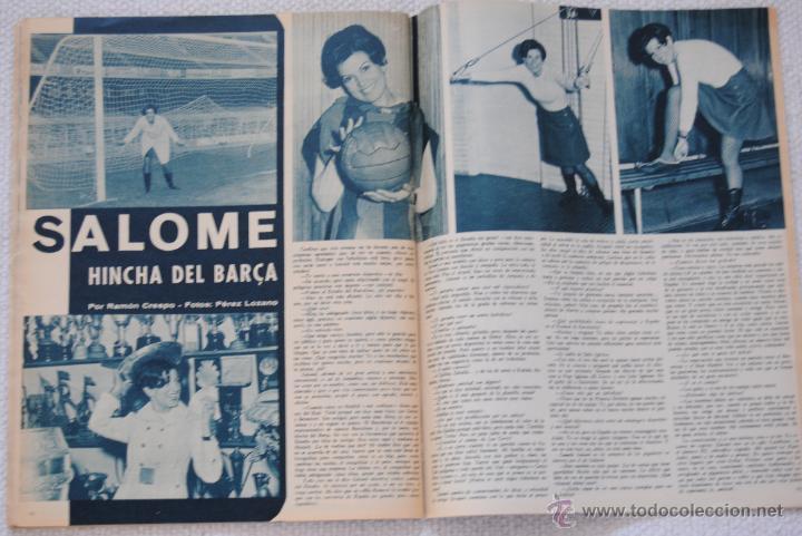 Coleccionismo deportivo: REVISTA BARÇA EXTRAORDINARIO DE NAVIDAD 1968 - Foto 15 - 47633779