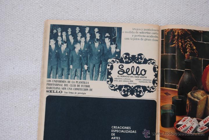 Coleccionismo deportivo: REVISTA BARÇA EXTRAORDINARIO DE NAVIDAD 1968 - Foto 17 - 47633779