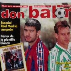 Coleccionismo deportivo: REVISTA DON BALÓN Nº 1132. Lote 47836598