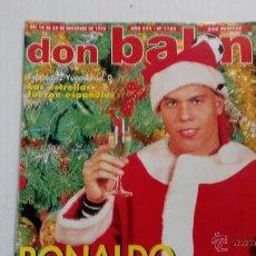Coleccionismo deportivo: REVISTA DON BALÓN Nº 1105. Lote 47836650