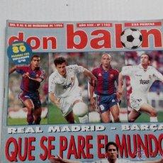 Coleccionismo deportivo: REVISTA DON BALÓN Nº 1103. Lote 47836671