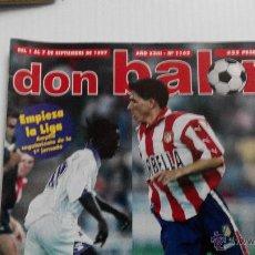 Coleccionismo deportivo: REVISTA DON BALÓN Nº 1142. Lote 47836696
