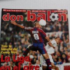 Coleccionismo deportivo: REVISTA DON BALÓN Nº 1126. Lote 47836718