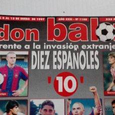Coleccionismo deportivo: REVISTA DON BALÓN Nº 1108. Lote 47836814