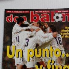 Coleccionismo deportivo: REVISTA DON BALÓN Nº 1156. Lote 47836858