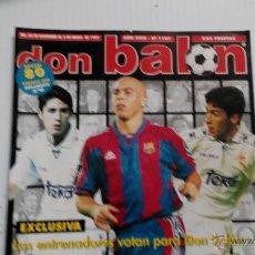 Coleccionismo deportivo: REVISTA DON BALÓN Nº 1107. Lote 47836911