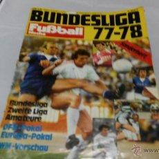 Coleccionismo deportivo: REVISTA BUNDESLIGA 77-78. Lote 47838745