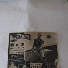 Coleccionismo deportivo: LADISLAO KUBALA LOTE DE 4 REVISTAS FUTBOL AÑOS 50 60 F. C. BARCELONA BARÇA. Lote 47850053