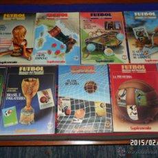 Coleccionismo deportivo: FÚTBOL HISTORIA DEL MUNDIAL 1930 1990 COMPLETA 9 FASCÍCULOS. MUNDIALES. SUPLEMENTO SEMANAL. BE.. Lote 47952657