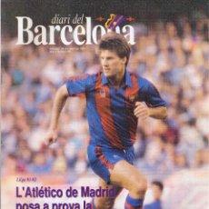 Collezionismo sportivo: DIARI DEL BARCELONA - Nº 66 - 1991 - POSTER CENTRAL BEGIRISTAIN. Lote 48215384