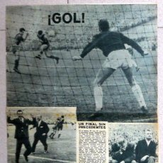 Coleccionismo deportivo: REVISTA BARÇA FC BARCELONA Nº282 1961 FUTBOL VINTAGE FOOTBALL FC BARCELONA HAMBURGO COPA EUROPA. Lote 162711664