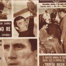 Coleccionismo deportivo: DIARIO DEPORTIVO DICEN Nº 1662 - 9 JUNIO 1970. Lote 48334096