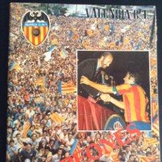 Coleccionismo deportivo: REVISTA VALENCIA C. F. ESPECIAL CAMPEONES VERANO DE 1979 COPA DEL REY. Lote 48353076