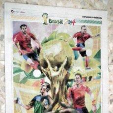 Coleccionismo deportivo: MUNDIAL BRASIL 2014 - SUPLEMENTO ESPECIAL - GRUPO JOLY. Lote 48460522