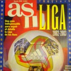 Coleccionismo deportivo: REVISTA AS EXTRA LIGA 2002-2003. Lote 48525802
