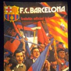 Coleccionismo deportivo: REVISTA BOLETIN F.C. BARCELONA Nº 49 JUNIO 1975 JAUME ROSELL COPA DE EUROPA BAYER MUNICH. Lote 52653492