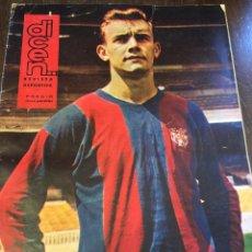 Coleccionismo deportivo: REVISTA DEPORTIVA DICEN N. 461 AÑO 1961 - ZALDUA, A.D.BALAGUER, CZIBOR, GENSANA, Y MUCHO MAS.... Lote 48600031