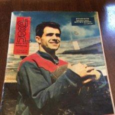 Coleccionismo deportivo: REVISTA DEPORTIVA DICEN N.445 1961, U.D.FIGUERAS, KUBALA, PUSKAS, EVARISTO, POLO EL CONDE DE REUS... Lote 48600227