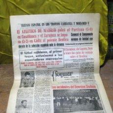 Coleccionismo deportivo: PERIODICO DEPORTIVO MADRID - 1965. Lote 48618244