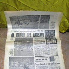 Coleccionismo deportivo: PERIODICO DEPORTIVO MADRID DEPORTES - 1970. Lote 48618329