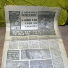 Coleccionismo deportivo: PERIODICO DEPORTIVO MADRID DEPORTES - 1970. Lote 48618516