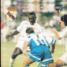 Coleccionismo deportivo: PROGRAMA OFICIAL REAL MADRID CF·· Nº 12. Lote 48717346