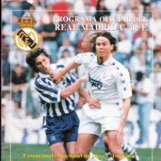 Coleccionismo deportivo: PROGRAMA OFICIAL REAL MADRID CF·· Nº 8. Lote 48717400