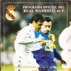 Coleccionismo deportivo: PROGRAMA OFICIAL REAL MADRID CF·· Nº 17. Lote 48717406