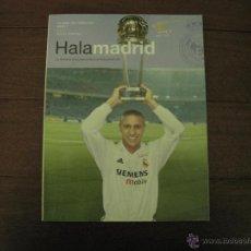Coleccionismo deportivo: REVISTA HALA MADRID. DICIEMBRE 2002 - FEBRERO 2003,Nº5 + SUPLEMENTOS. Lote 48719806