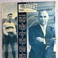 Coleccionismo deportivo: REVISTA BARÇA FC BARCELONA ANTIGUA 1958 FUTBOL VINTAGE FOOTBALL KOCSIS SAMITIER. Lote 48745827