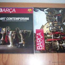 Coleccionismo deportivo: LOTE DE 2 BARÇA (REVISTA OFICIAL FC BARCELONA) Nº 39 Y Nº 43 (COLLITA 2009 - ART CONTEMPORANI). Lote 48841070