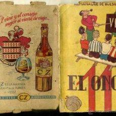 Coleccionismo deportivo: ALMANAQUE EL ONCE 1948. Lote 48954294